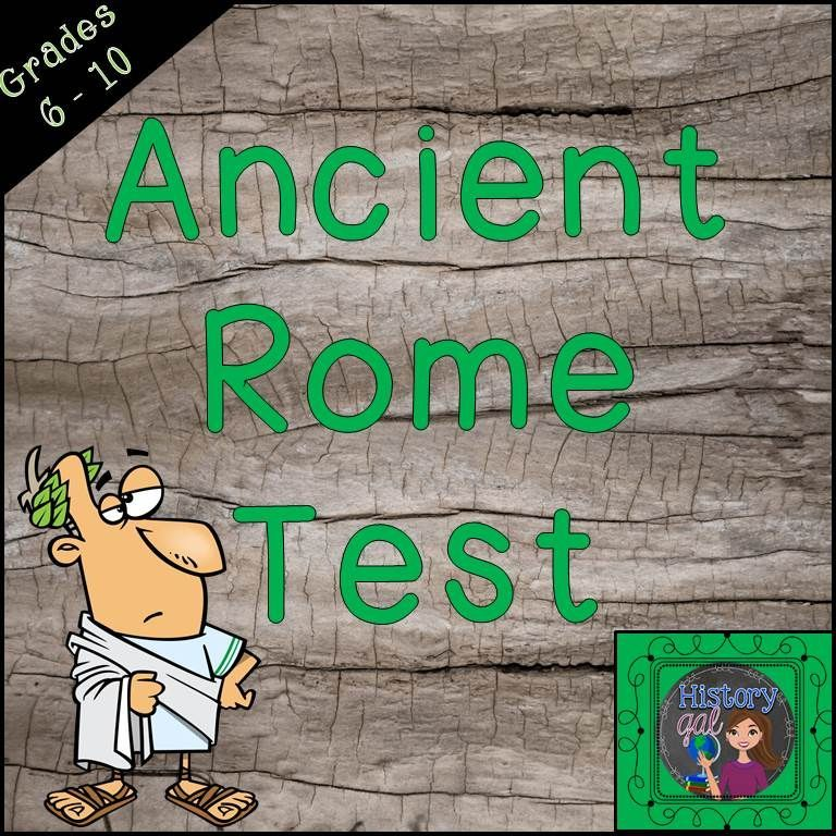 This editable ancient rome test includes 18 matching questions 32 this editable ancient rome test includes 18 matching questions 32 multiple choice questions fandeluxe Choice Image