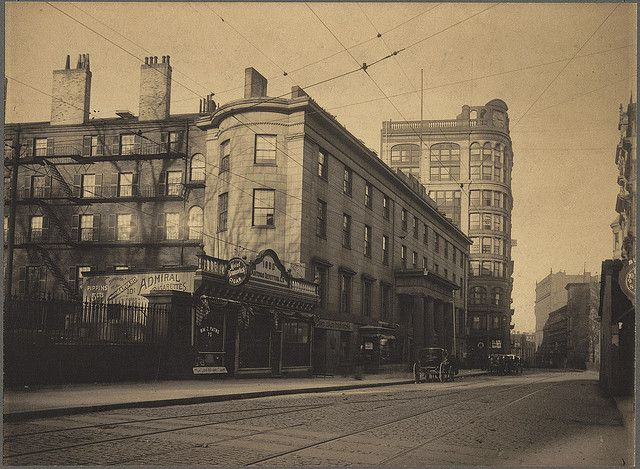 Tremont House Corner Of Tremont Street And Beacon Street Tremont House Boston History Most Haunted