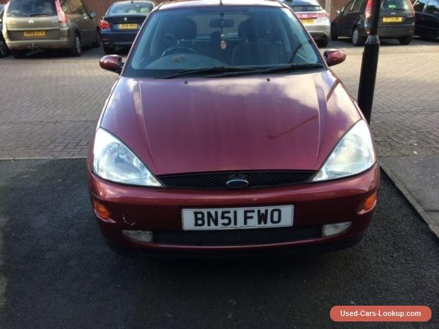 Car For Sale Ford Focus Zetec 1 6 16v 5dr 51 Pepper Red