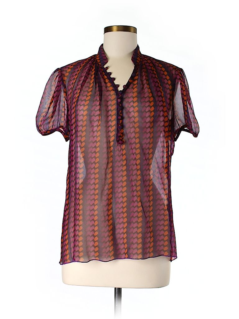 Short Sleeve Silk Top Silk Top Clothes Design Tops