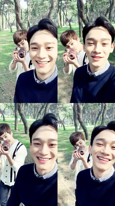 ป กพ นโดย Bbmin ใน 1exo Xiumin Exo Exo Chen และ Chen