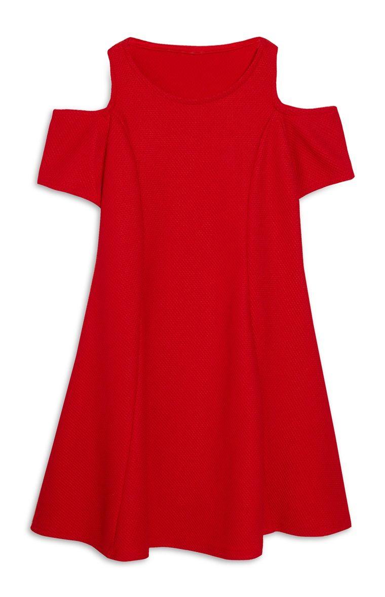 Rode jurk primark