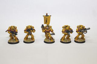 Imperial Fist Tactical Space Marines