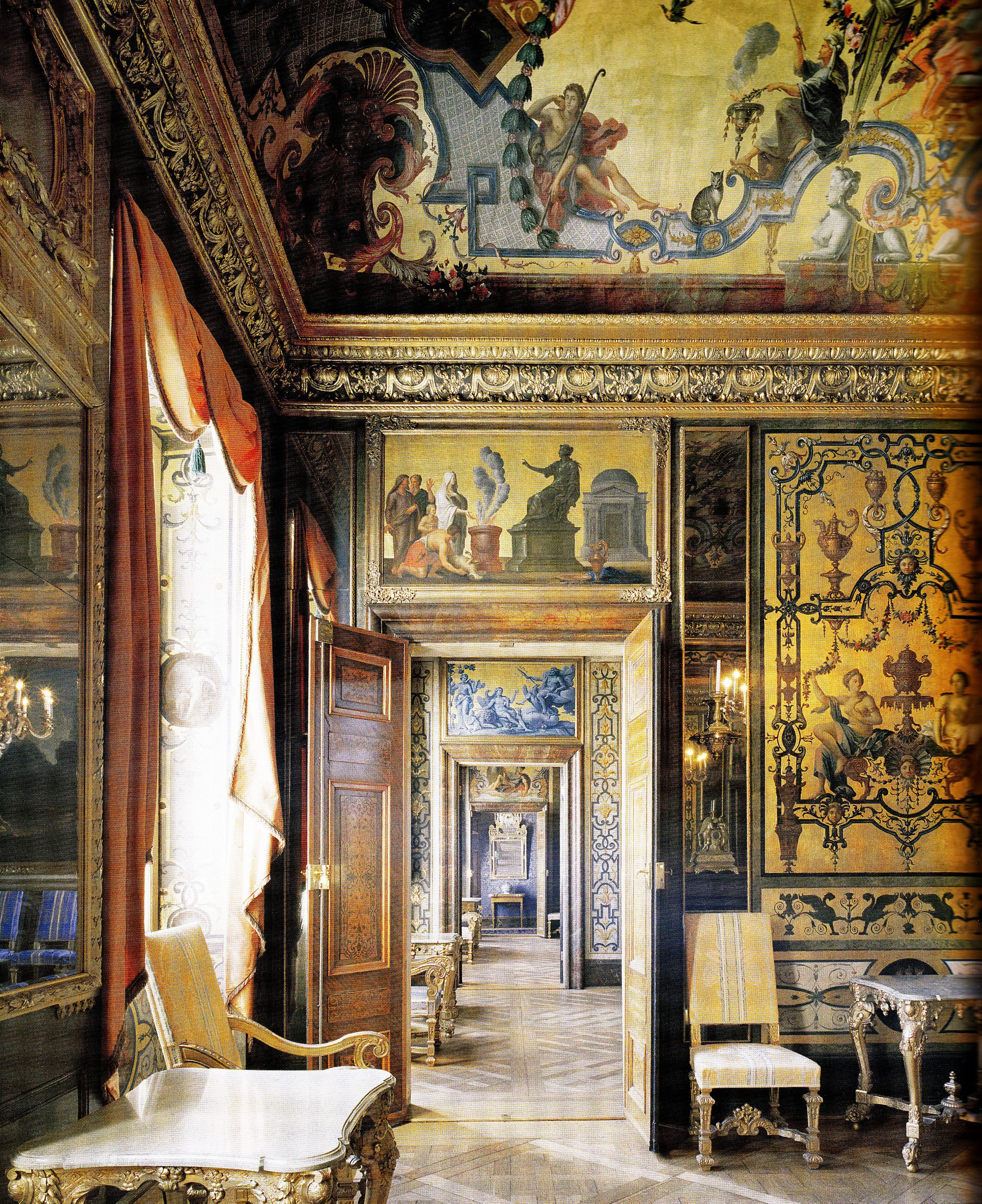 Tessin palace residence for the govenor general of stockholm