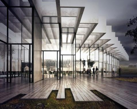 Tanskalainen arkkitehtitoimisto #COBE voittanut addun pääkonttorille tulevan 'Eat&Greet' -rakennuksen suunnittelukisan