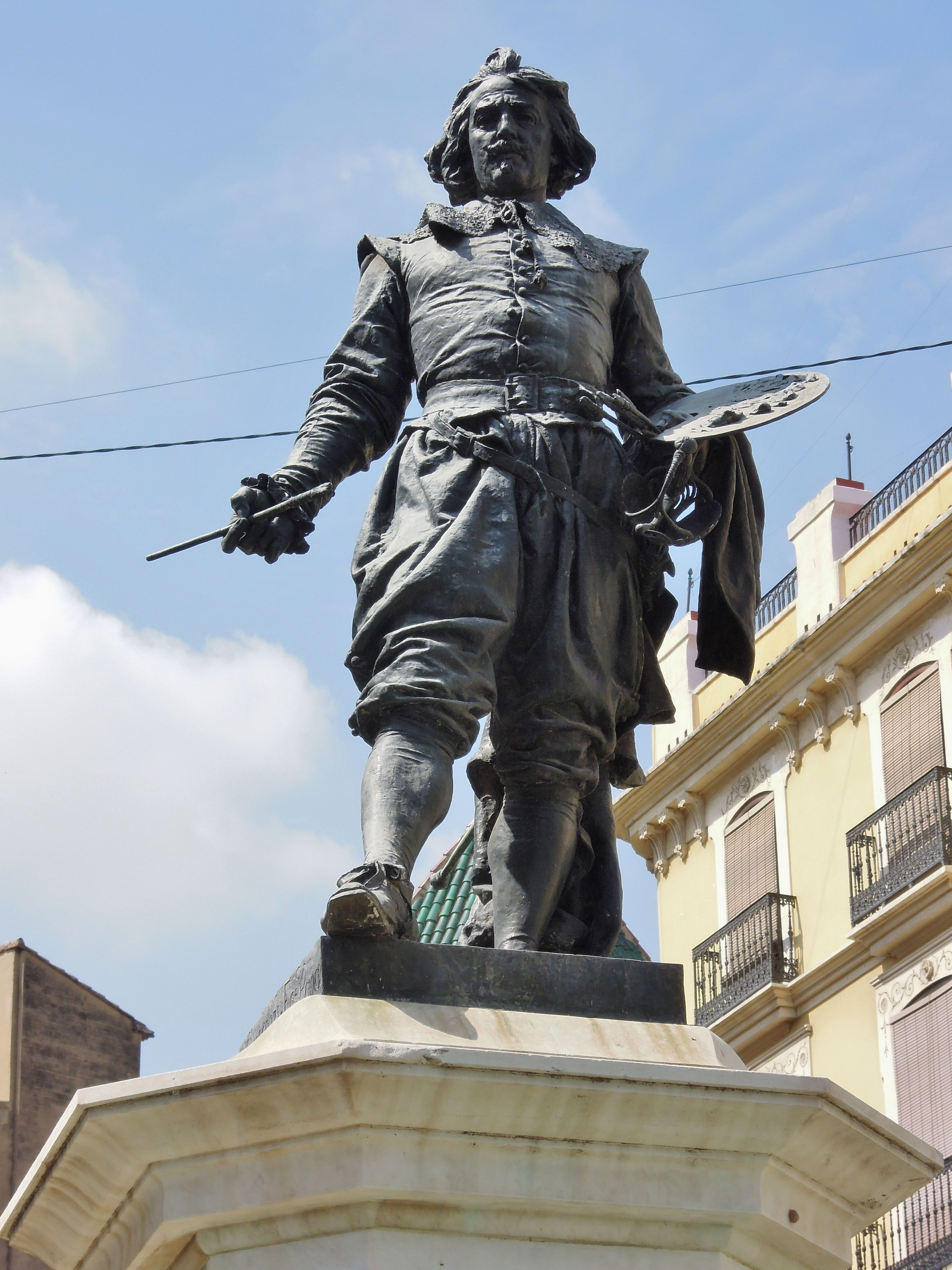Monumento al pintor José de Ribera Valencia