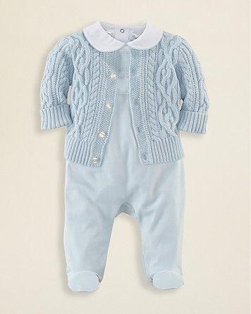90859e4d8b08 Ralph Lauren Childrenswear Infant Boys  3 Piece Set - Sizes 3-9 Months