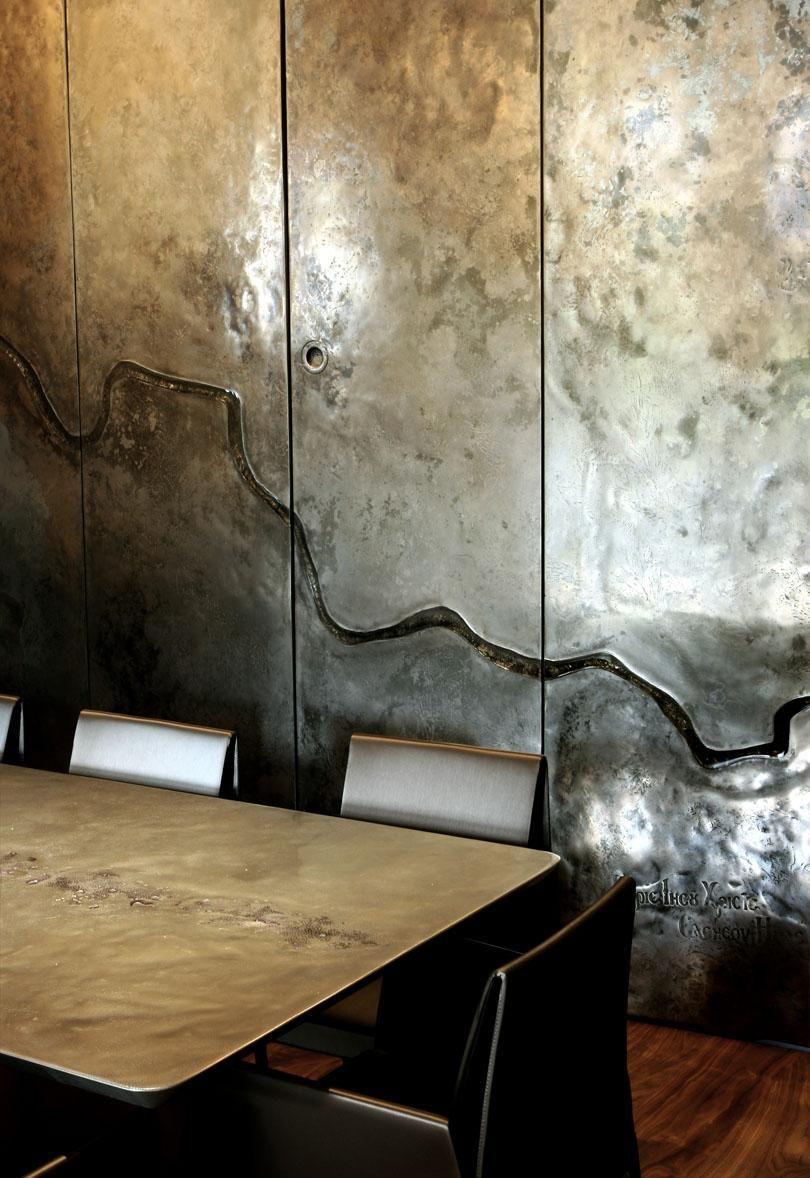 Www Cottageandbeach Net Metallwande Wandbehandlung Dekor