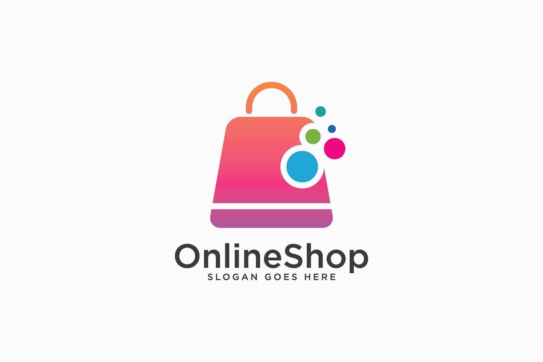 25 creative e commerce online shopping logo templates for Design shop online