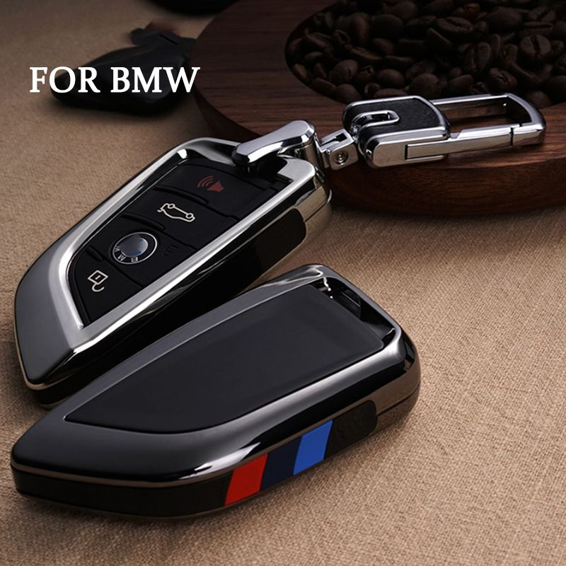 Car Key Cover Case For Bmw X1 X5 X6 F15 F16 F48 Bmw 1 2 Series Plating Remote Controller Key Bag Holder Fit Bmw Blade Keychain Revie Bmw Key Case Bmw Bmw Key
