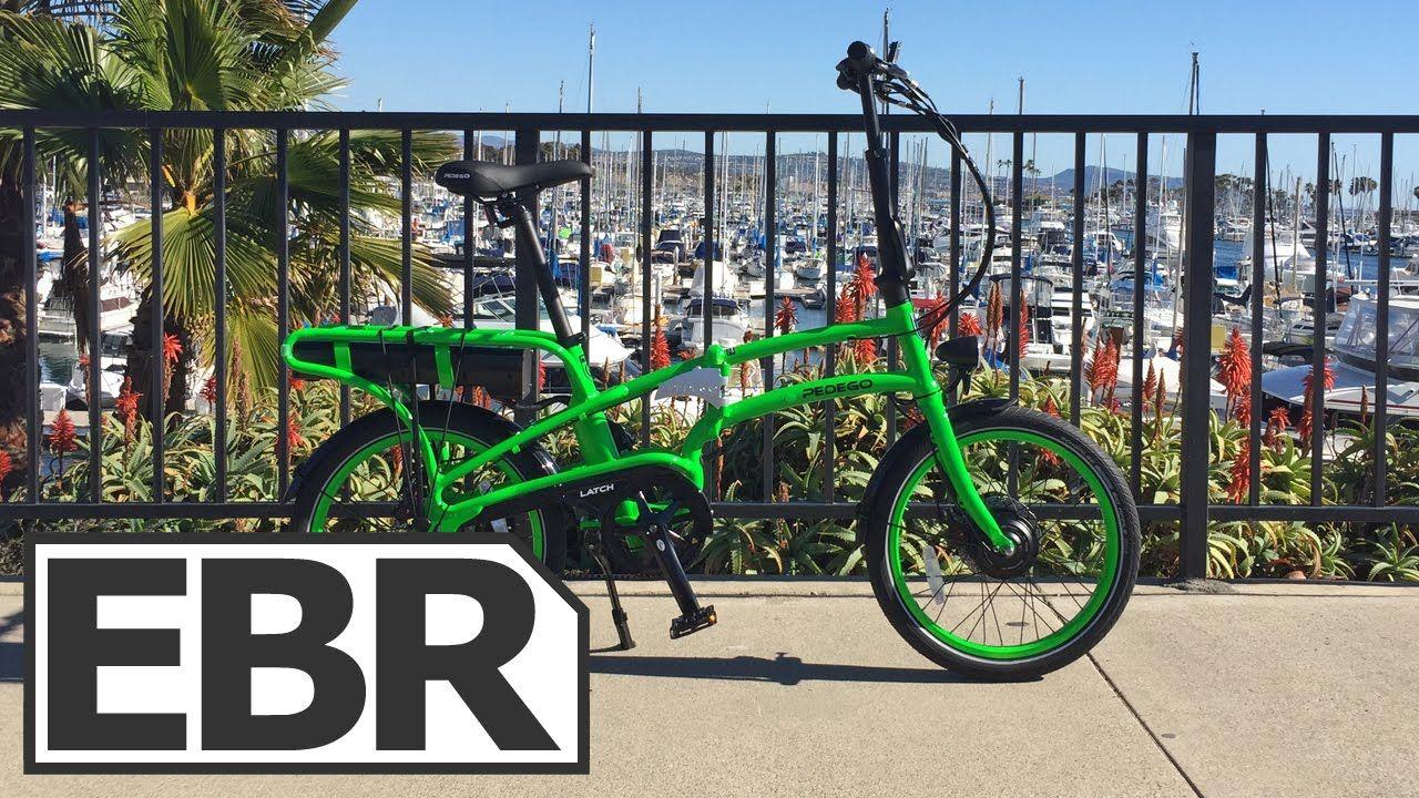 Pedego Latch Video Review Folding Electric Bike Electric Bike Latches