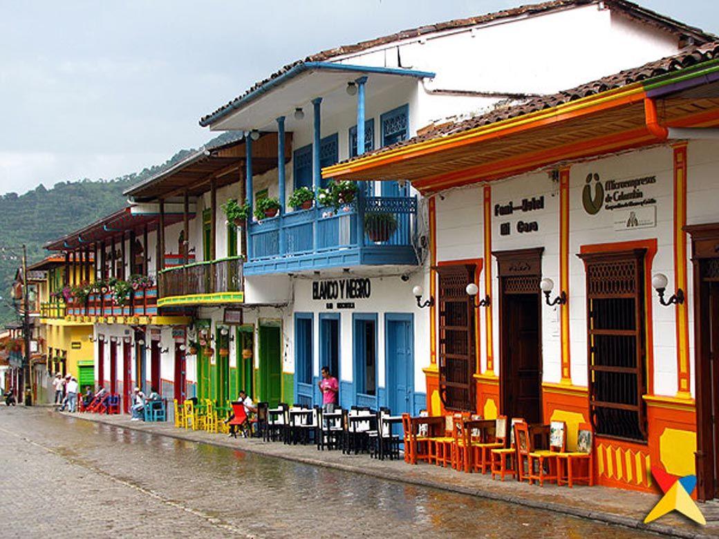 Balcones y portadas de jard n antioquia colombia for Jardin antioquia