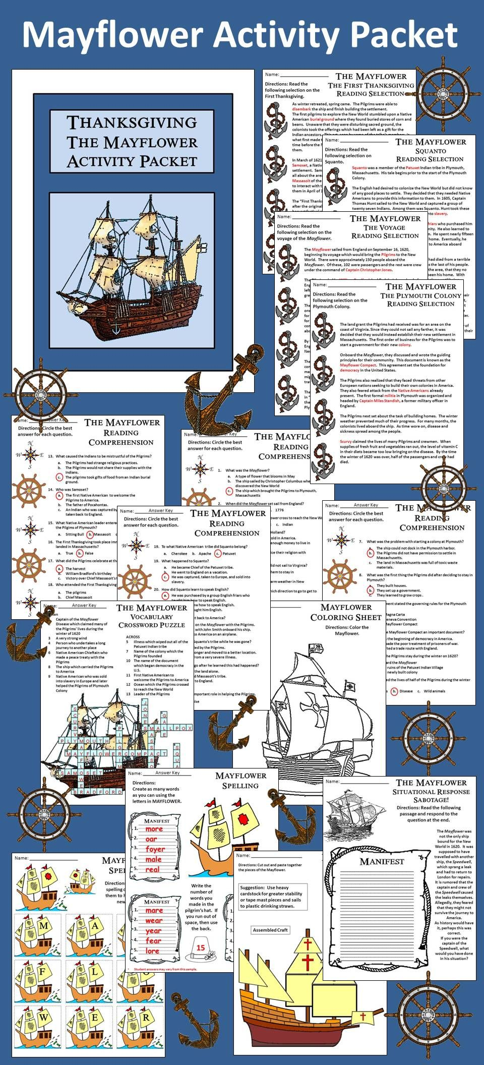 Worksheets Mayflower Compact Worksheet mayflower compact in bottle and products