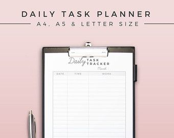 daily task tracker
