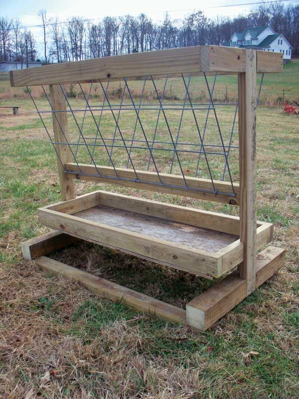 farm pin horse pinterest skids projects and on hay cattle feeder