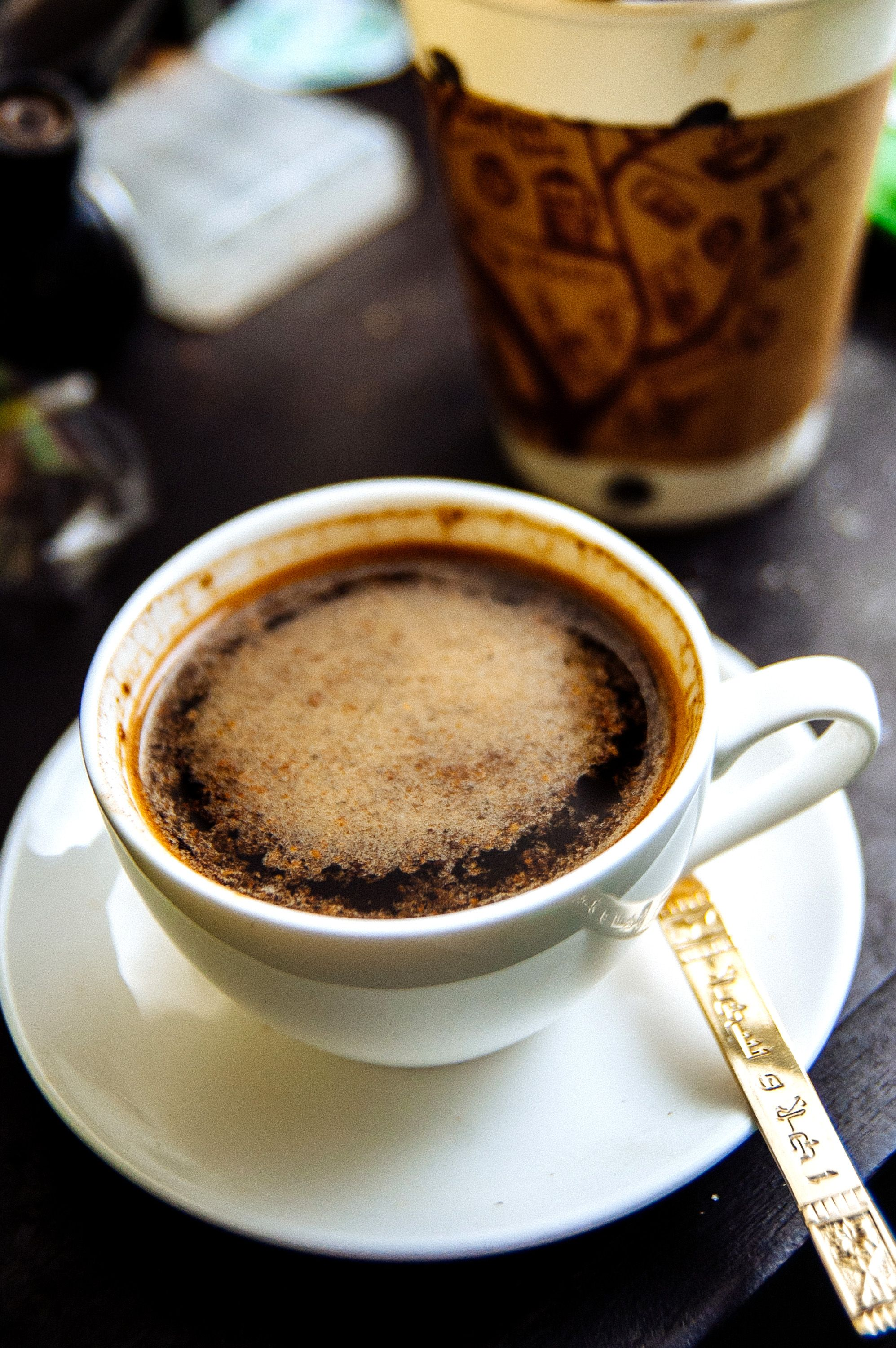 Kopi Tubruk Arabica Aceh Gayo In A Cup Coffee Pinterest Cups