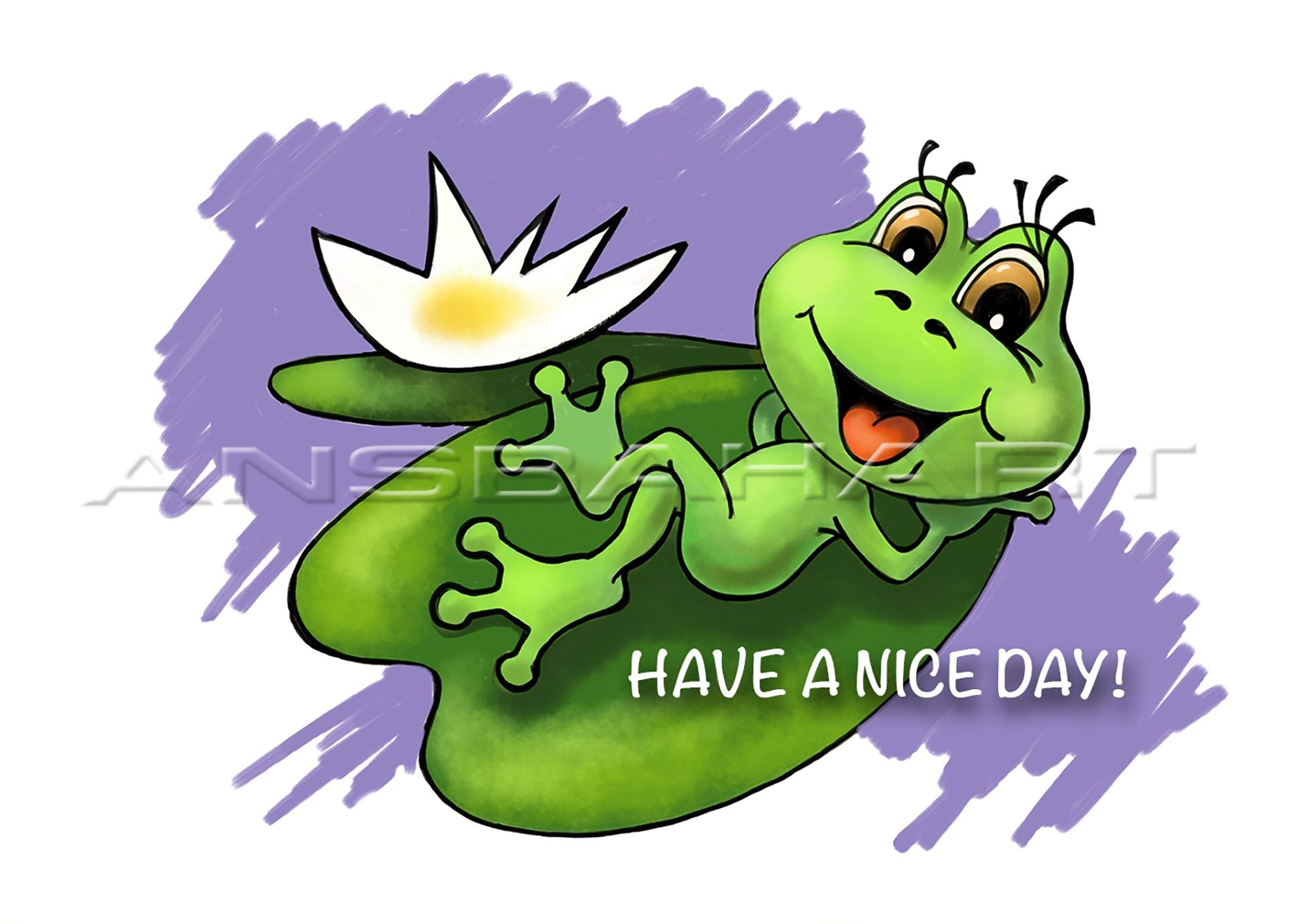 Have A Nice Day Card Digital Vacation Card Printable Holiday