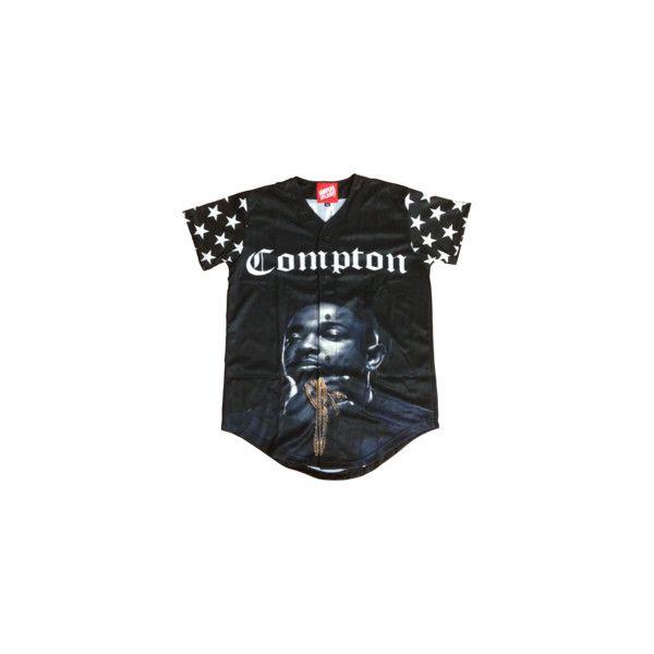 Simple Splashy Compton Baseball Jersey Sold Out Baseball Jersey Shirt Baseball Jerseys Clothes Design