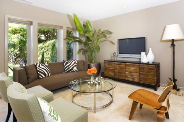 Delightful Artificial Plants In Living Room   Google Search