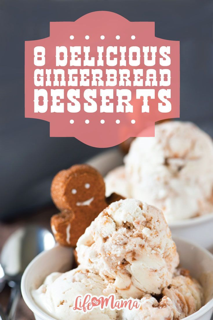 Fun, old fashioned gingerbread men cookies are always a great option when it comes to winter desserts for the entire family, but there are a whole host of cakes, bars, and barks out there waiting to be enhanced with that classic ginger-filled flair. These