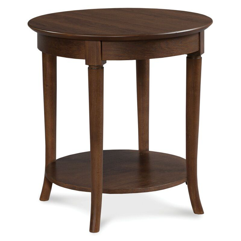 Best Campaigna End Table With Storage Round Accent Table 640 x 480