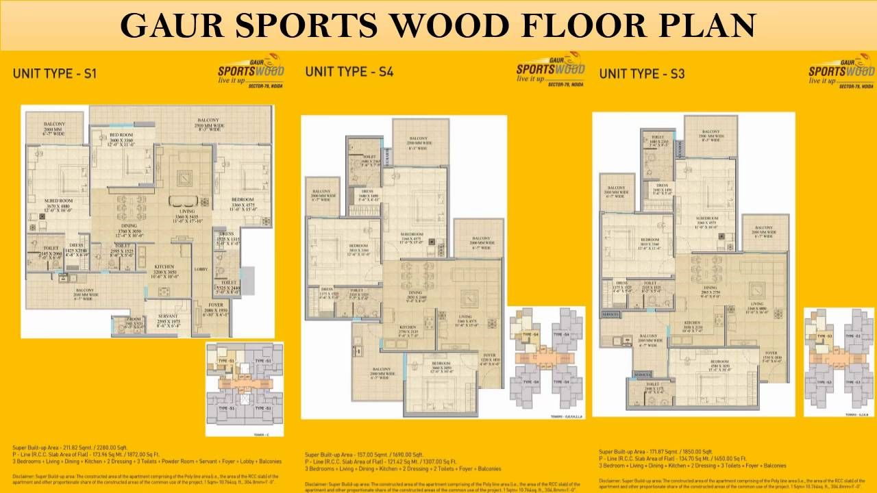 Buy Gaur Sports Wood Luxury Apartments in Noida