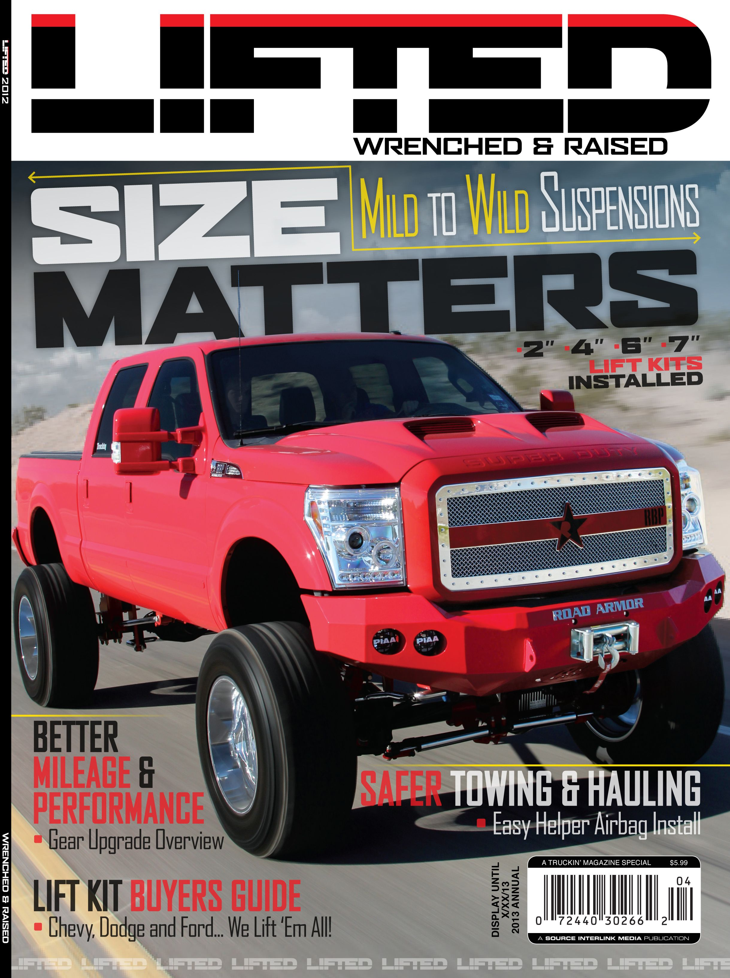 It s time for our lifted magazine edition of 2013 check out what s inside