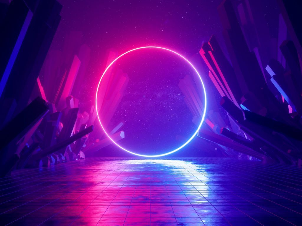 Ultraviolet 4k Wallpapers For Your Desktop Or Mobile Screen Free And Easy To Download In 2020 Blue Neon Lights Neon Wallpaper Neon
