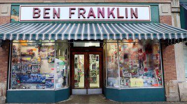 Ben Franklin's has been open for over 100 years!