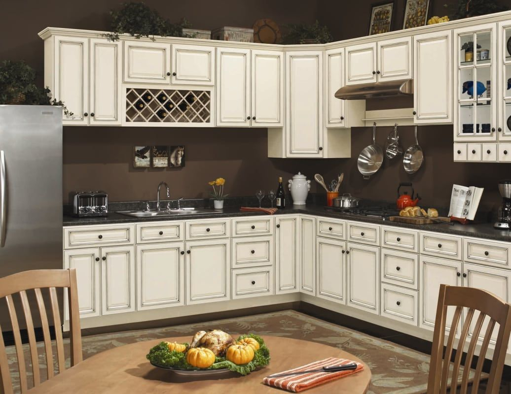Sunny Wood Sla2435bep Off White With Charcoal Glaze Sanibel 24 X 35 Veneered Base End Panel Ivory Kitchen Cabinets New Kitchen Cabinets Kitchen Renovation