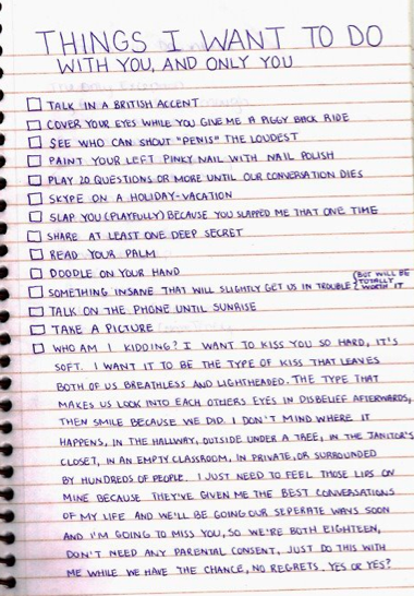 Things my boyfriend would like