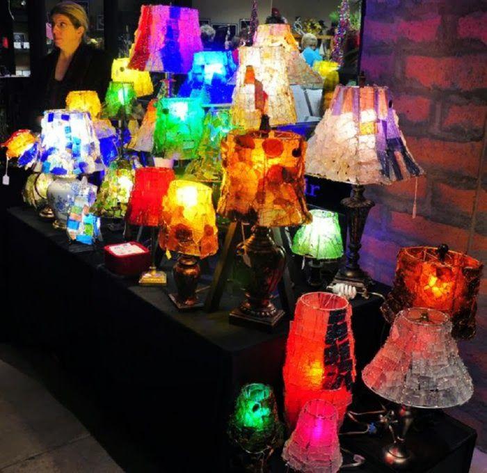 recycled glass lighting. \ Recycled Glass Lighting