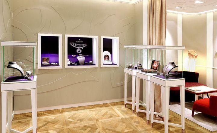 Wellendorff jewellery boutique by Stefano Tordiglione Design, Hong Kong store design