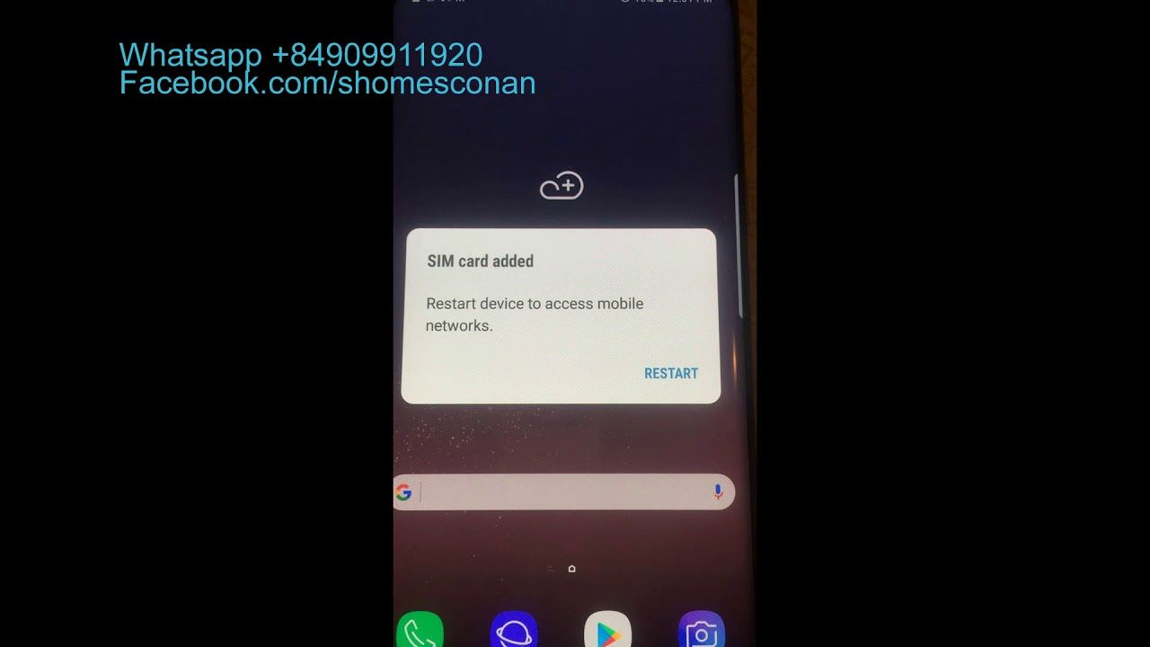 Unlock sim network Samsung SCV33 SCV35 Galaxy S7 Edge S8