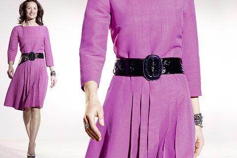 BERNINA 350 - Dress with Pleated Skirt