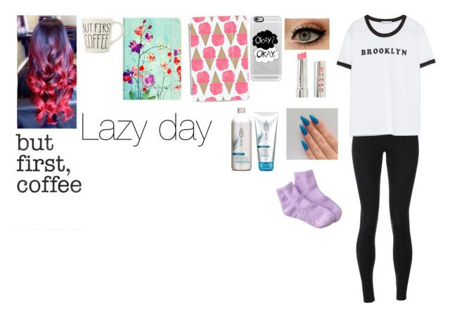 """Sick/Lazy day"" by faithgirl808 ❤ liked on Polyvore featuring Solow, Zara, Stila, Casetify, Matrix Biolage, Retrò and Earth Therapeutics"