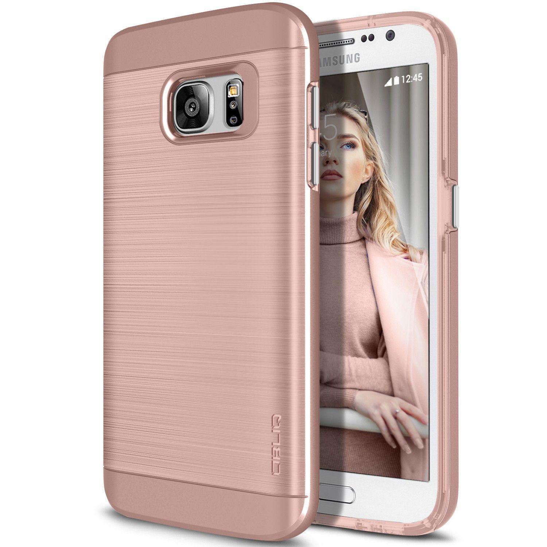 Obliq Slim Meta Samsung Galaxy S7 Case Rose Gold Samsung Galaxy S7 Cases Samsung Galaxy S7 Galaxy S7 Phone Cases