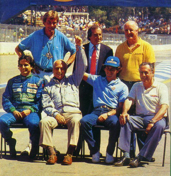 Campeones del Mundo de la F1. Hunt, Stewart,,Hulme, Piquet,Fangio,Senna, Brabham