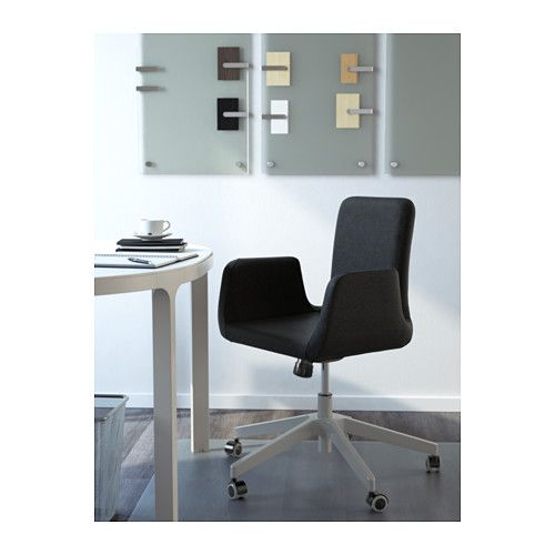 patrik swivel chair - ullevi dark gray, - - ikea