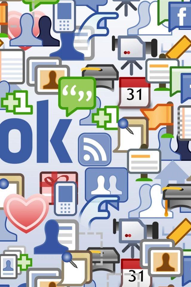 Facebook IPhone 4s Wallpaper Download