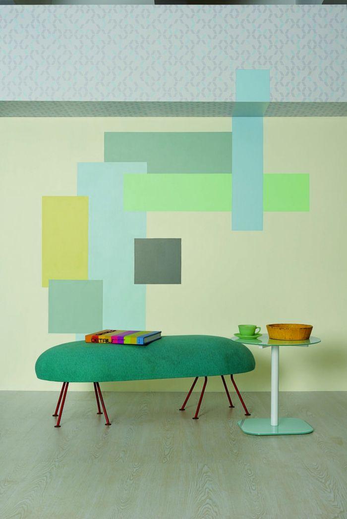 Wandfarben Einrichtungsbeispiele Wohnideen Wohnzimmer Einrichten Wohnzimmer  Ideen Tropisch Thematisch
