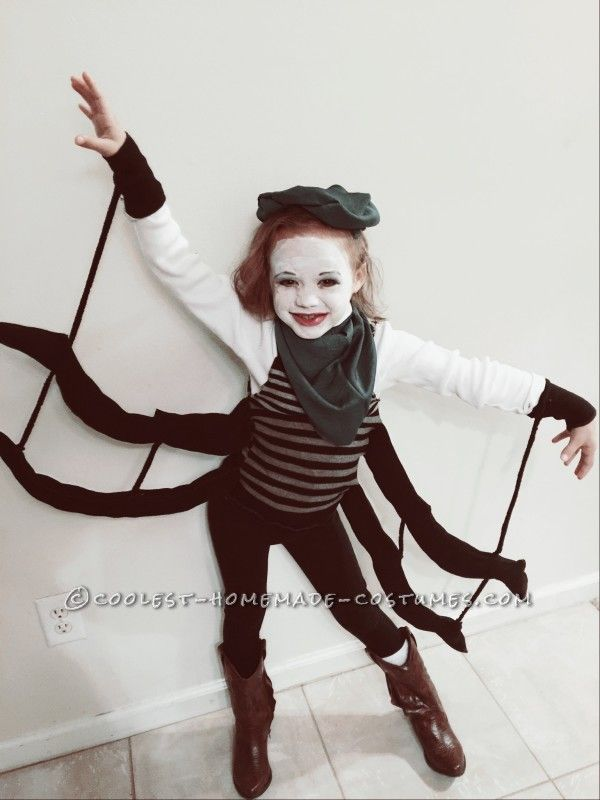 DIY Miss Spider (James and the Giant Peach) costume - perfect for World Book day  sc 1 st  Pinterest & Coolest Spider Costume for a Girl | Pinterest | Peach costume ...