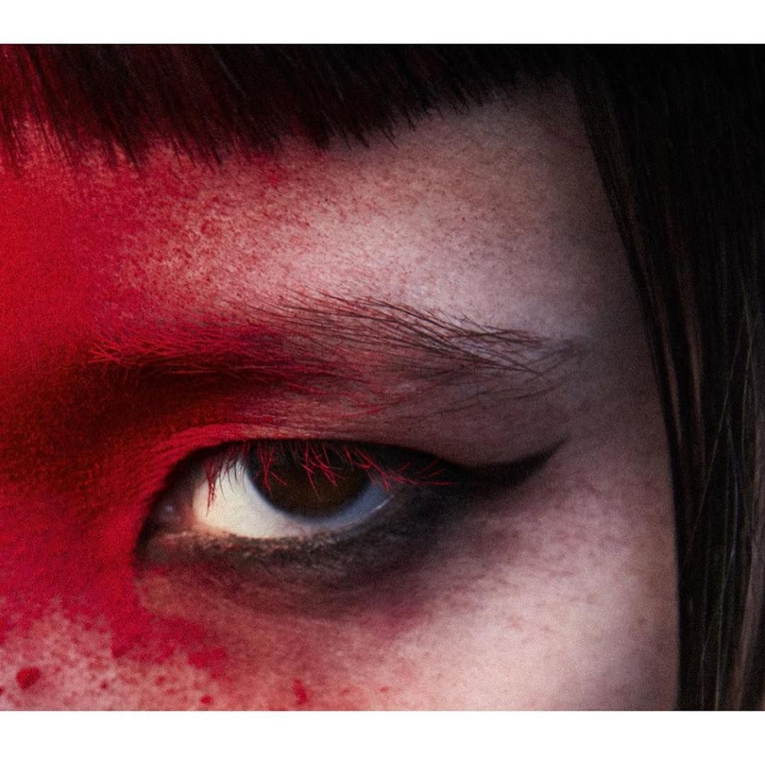 "JoanneBlades on Instagram: ""Yuka❤️ by Jack, Dotti, Rita and I for Zoo @yuka  @jackwaterlotstudio @therealistdotti @ritamarmor @zoomagazine  #asia #beauty #red #makeup…"""