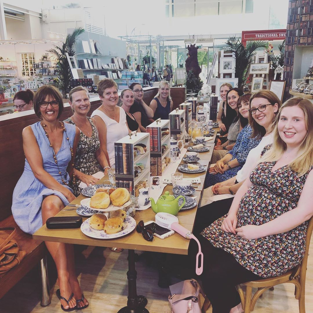 Afternoon Tea for 11 fabulous ladies in Bicester.