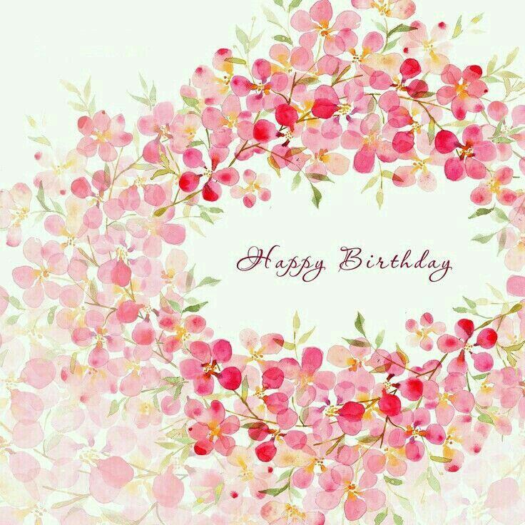 Birthday Flowers Images With Quotes: Fluide Florale �� Watercolor Flowers Aquarelle Fleurs