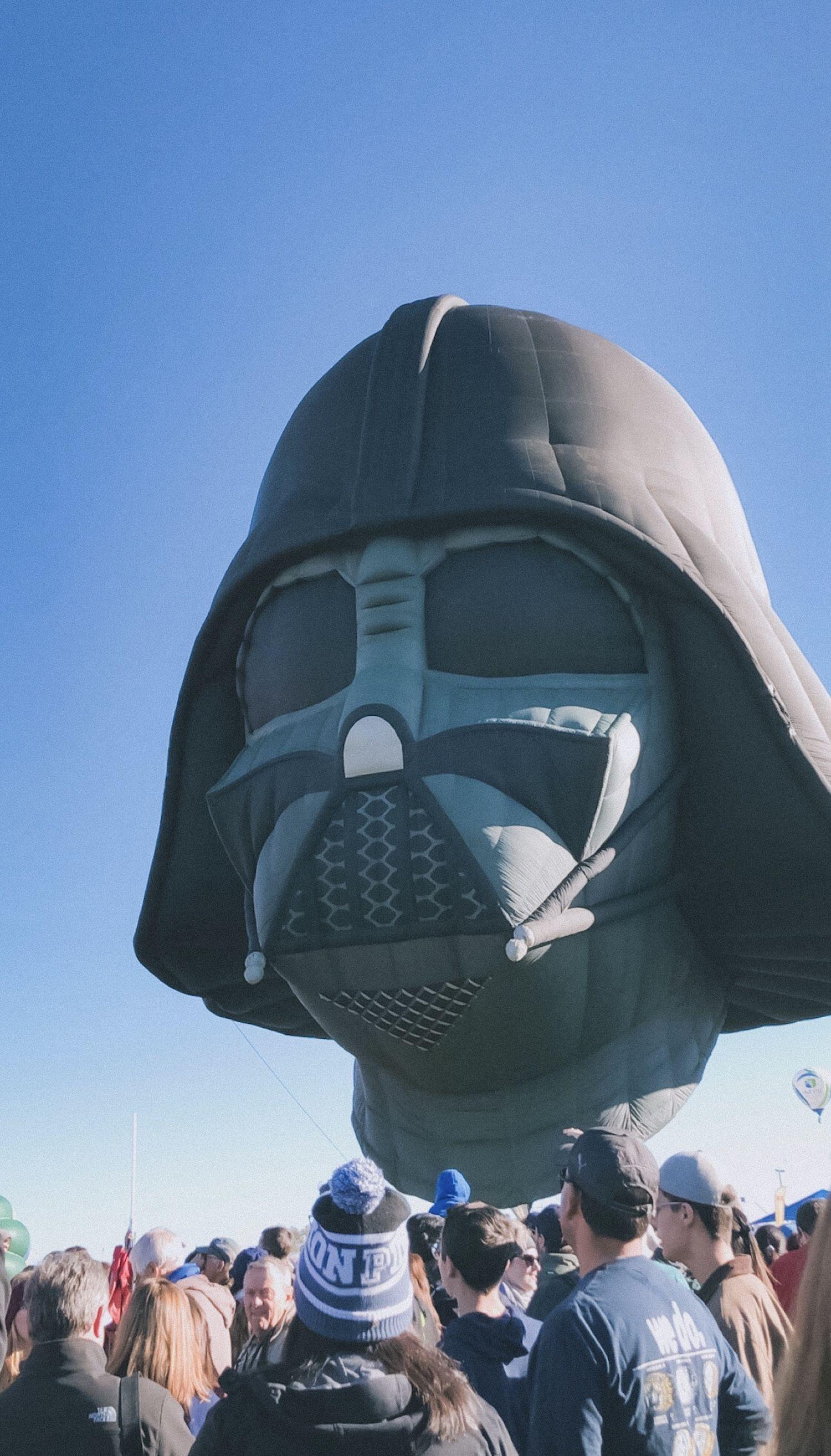 Darth Vader Hot Air Balloon