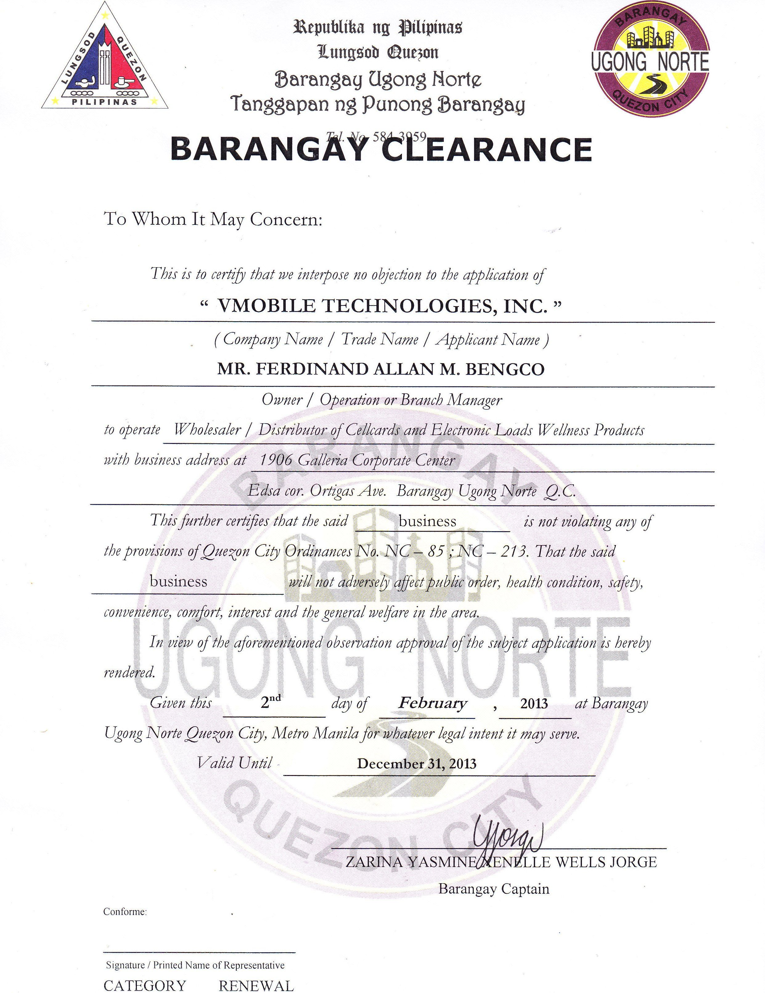 Barangay clearance sample certificate good moral character images barangay clearance sample certificate good moral character images yadclub Gallery