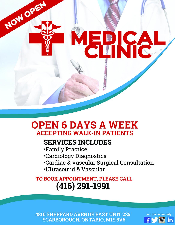 63 upmarket flyer designs flyer design medical clinic