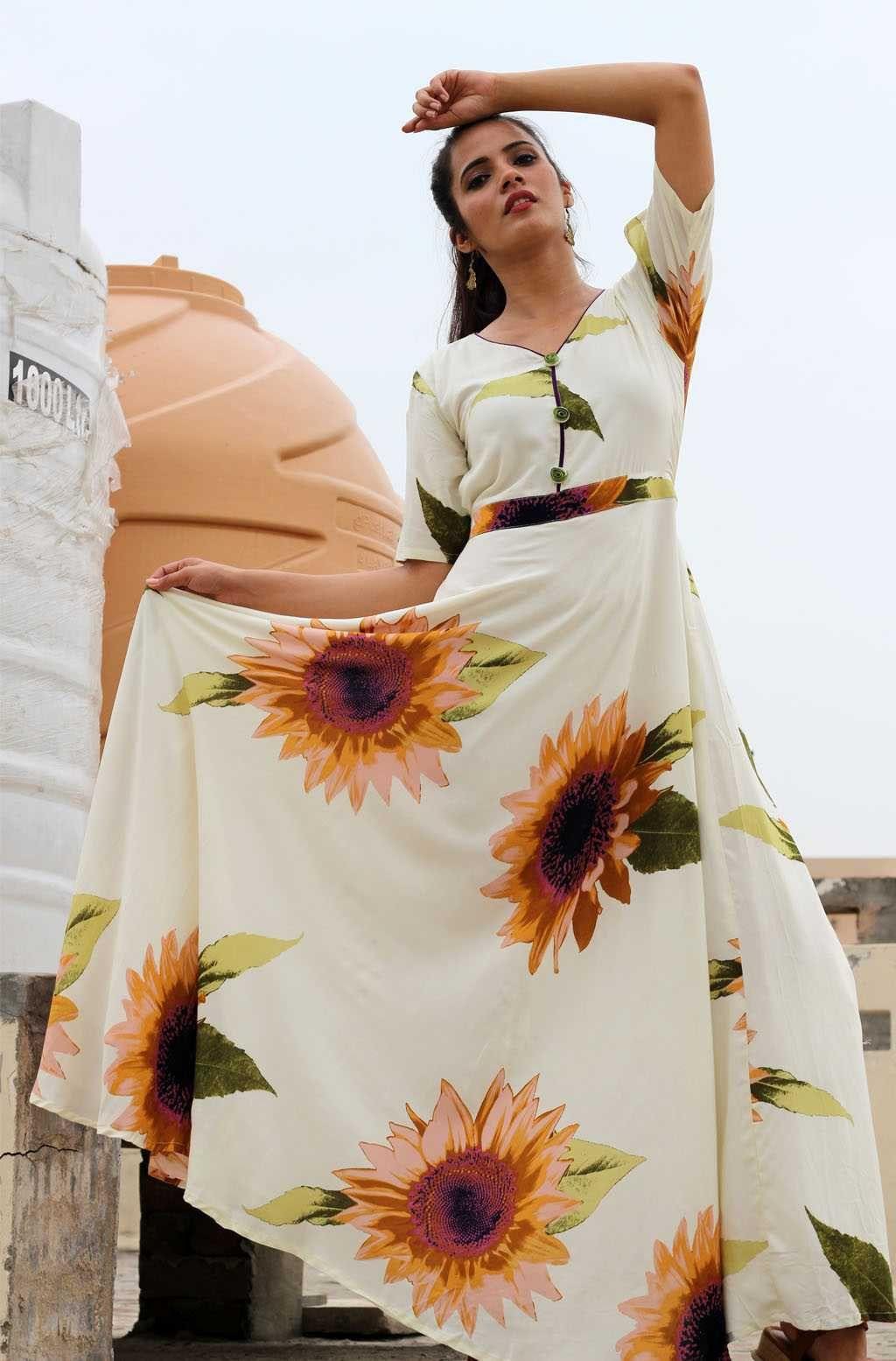 White Sunflower Maxi Dress Maxi Dress Dresses Dress Collection [ 1555 x 1024 Pixel ]
