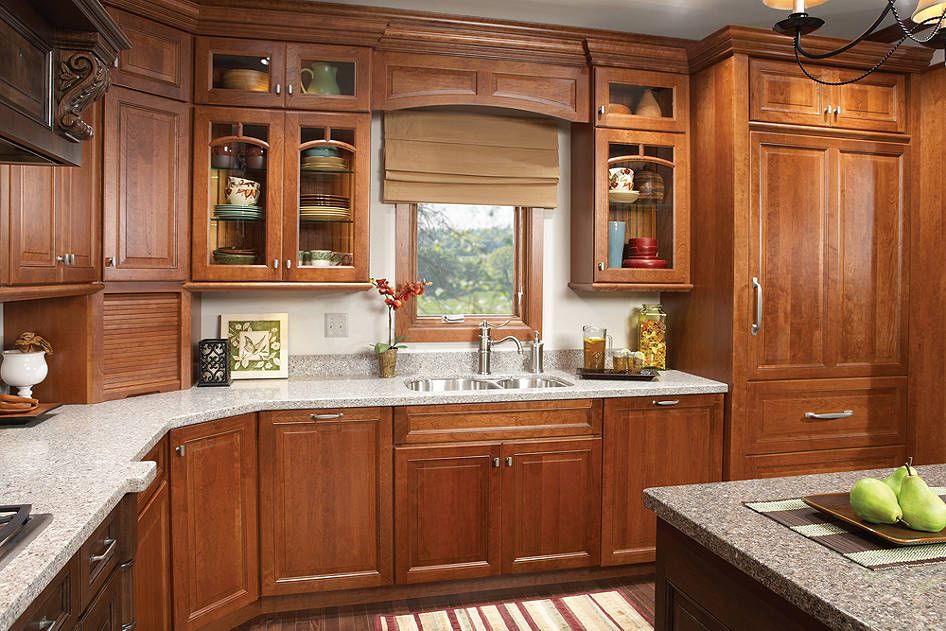 Room Gallery - Medallion Cabinetry wellington and rustic ...